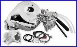 New S&S Super E Carburetor Kit for Harley Davidson Part# 11-0450