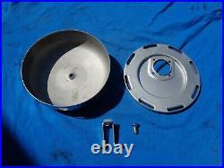 OEM H-D Linkert Carburetor Air Cleaner Knucklehead Panhead Flathead Sportster 45