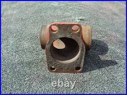 OEM H-D Linkert Carburetor Intake Manifold with Nuts 61 Knucklehead Panhead
