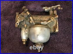 Original Early Harley Davidson Knucklehead Panhead M74B Linkert Carburetor