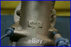 Original Harley Panhead M45a Linkert Carburetor Fl El 1950-64