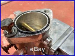 Rare Vintage Harley Davidson S&S Cycle L Carburetor GAL 1330 1 7/8