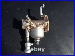 Rebuilt H-D Linkert M74B Carburetor with Fuel Strainer