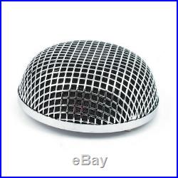 Round Mesh Air Cleaner For Harley-Davidson With CV Carb Or Delphi EFI