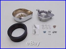 S&S Cycle Harley Davidson FL FLH Air Cleaner for E/G Carburetors 17-0440