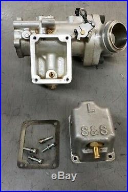 S&S L-Body Carburetor D 330 Vintage Harley Davidson