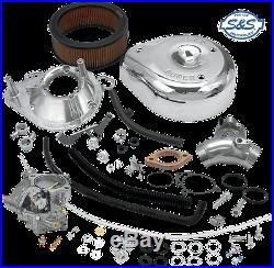 S&S Super G Twin Cam Carburetor Kit 99-05 Harley Davidson Dyna Touring Softail