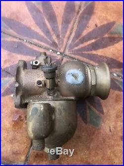Schebler Carb Carby Carburetor Indian Excelsior Harley Davidson Pope Vintage