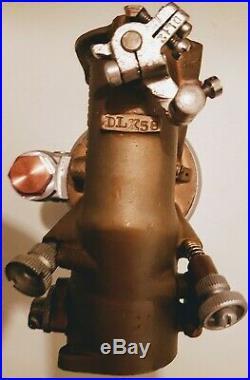 Schebler DLX58 Carburetor. Harley Davidson JD