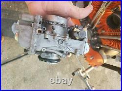Vintage Harley Davidson Mikuni 40mm flat side Carburetor