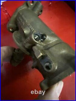 Vintage Harley OEM Knucklehead Panhead Linkert Carburetor M35 tp Body 4906