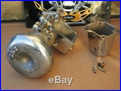 Vintage S&S E127 Carburetor Harley Davidson Knucklehead Panhead Shovelhead