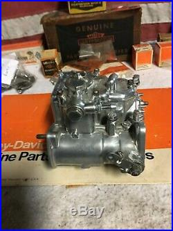 Weber 40mm Dual throat Carburetor for Harley Davidson Big Twin Engines with Intake