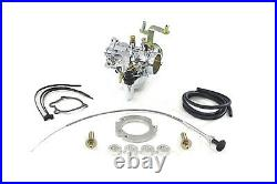 Zenith 40mm Chrome Spigot Mount Carburetor Kit fits Harley-Davidson, by Zenith